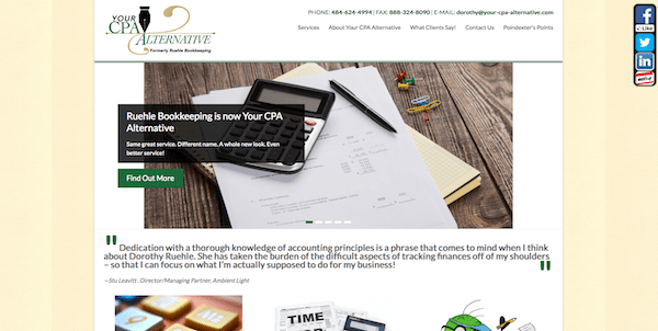 Your CPA Alternative Designed by goMAaVA
