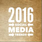 social media engagement, 2016 Social Media Trends