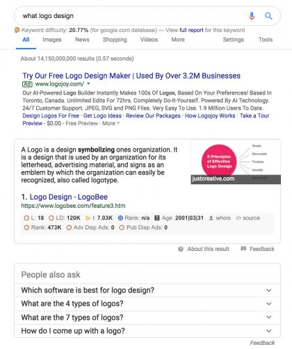 power of words, ask google, blogging