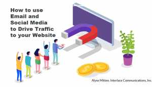Email and Social Media to Drive Traffic to your Website