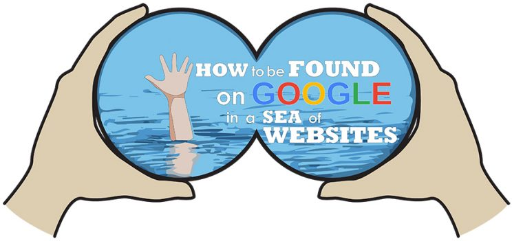 How to be found on Google in a sea of websites. Interlace Communications in berks County PA can help you.